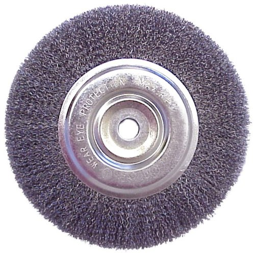 6 Quot Wire Brush Wheel For Bench Grinder Ebay