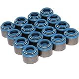 Comp Cams 514-16 Set of 16 Metal Viton Valve Seals for .500'' Guide Size, 3/8 Valve Stem'