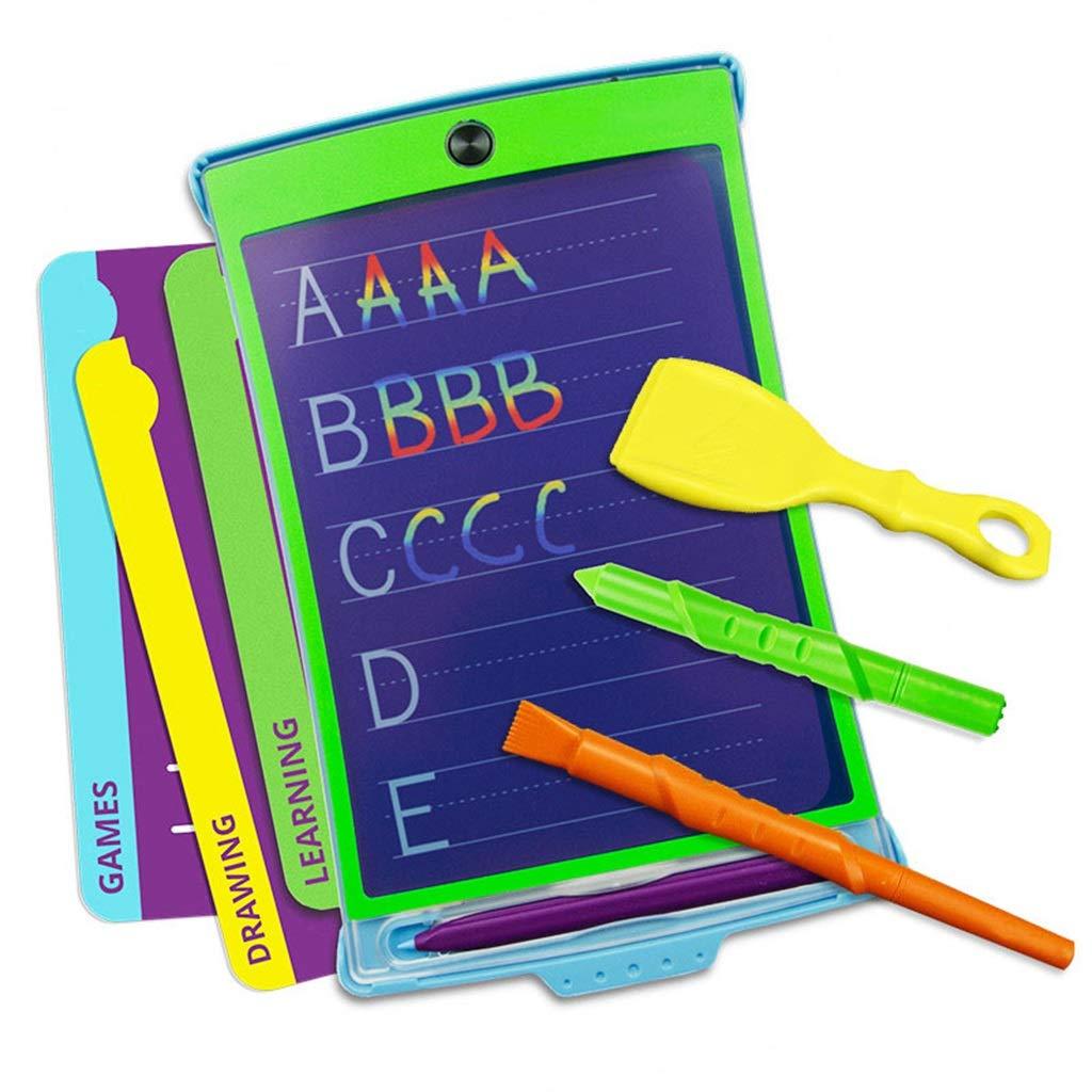タブレット電子ボード8.5インチの色の半透明のグラフィック入力ボード描画落書きポータブルノートブックの子供の誕生日の贈り物をコピーすることができます   B07LBMFX73