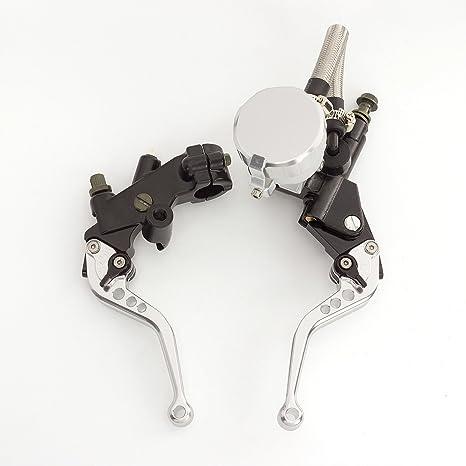 rzmmotor motocicleta cilindro maestro del freno Depósito palanca de embrague ajuste para Yamaha 125 – 300
