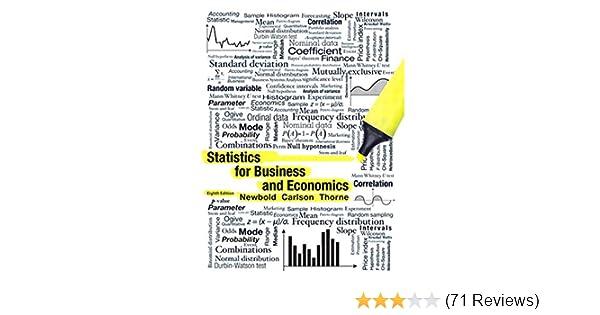 Statistics for Business and Economics 8, Paul Newbold