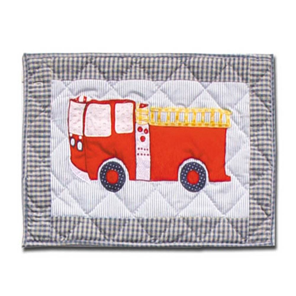 19-Inch by 13-Inch Patch Magic Fire Truck Place Mat