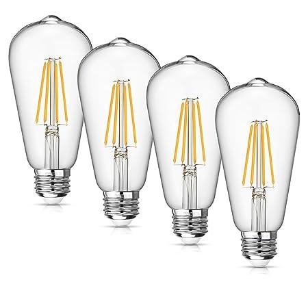 Review Vintage LED Edison Bulb