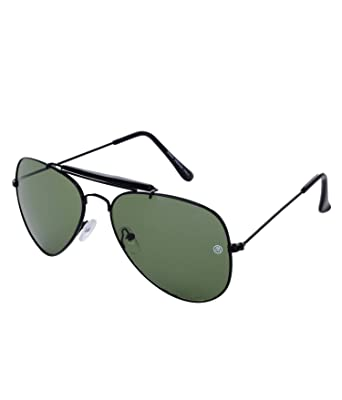 0d70ac1eed MarkQues Volvo Aviator Sunglasses (Black) (VL-550114)  Amazon.in  Clothing    Accessories