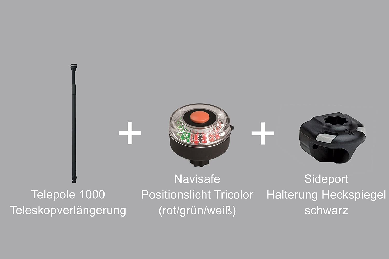 Set: Extendapole + Sideport + Navisafe LED TriColor ...