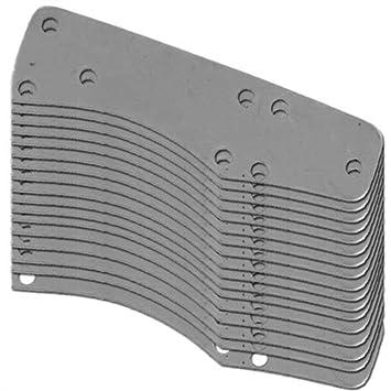 20 Gauge Custom Steel 100 Count Lamellar Plates Type 3
