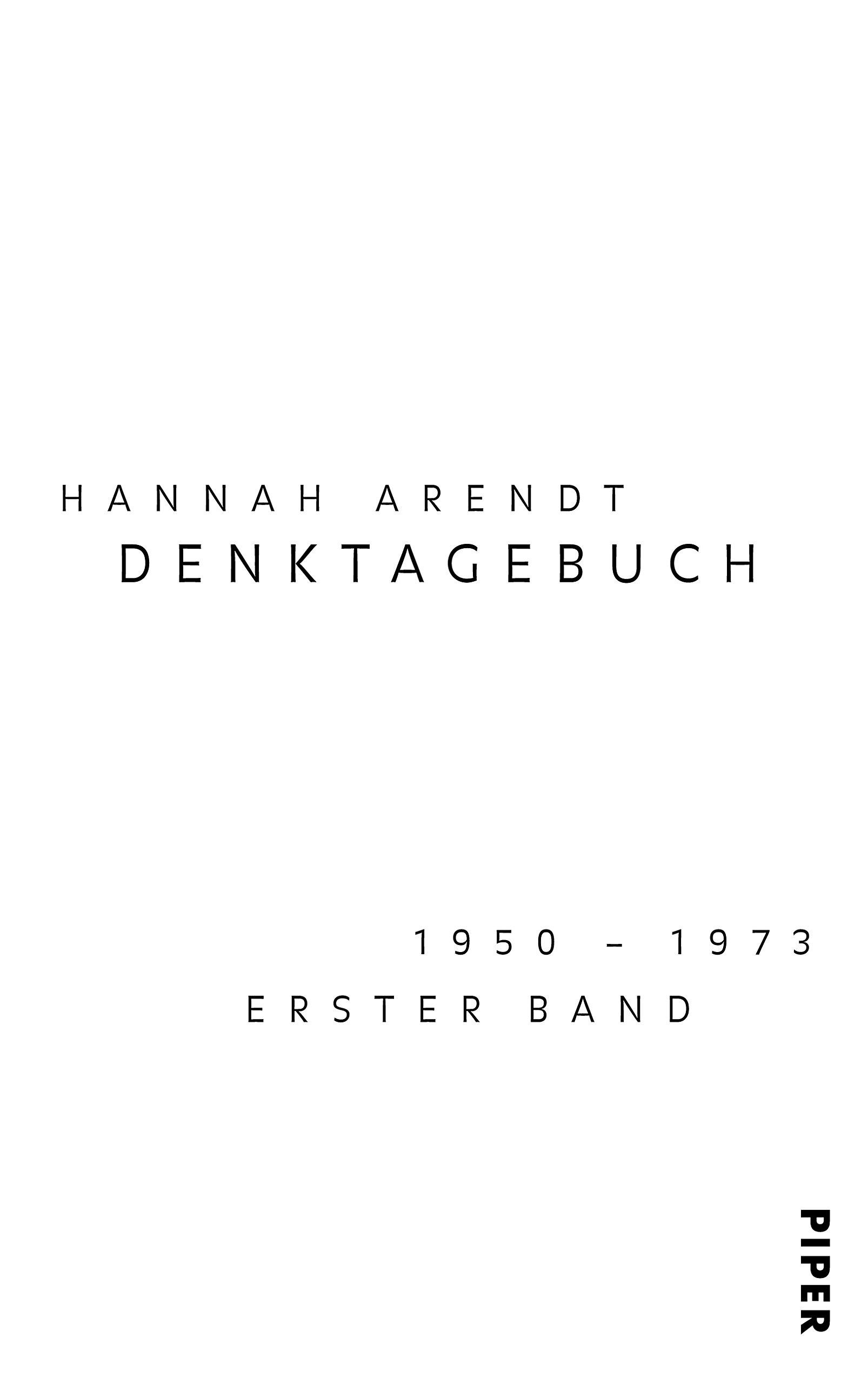 Denktagebuch: 1950?1973: Amazon.de: Ursula Ludz, Ingeborg Nordmann ...
