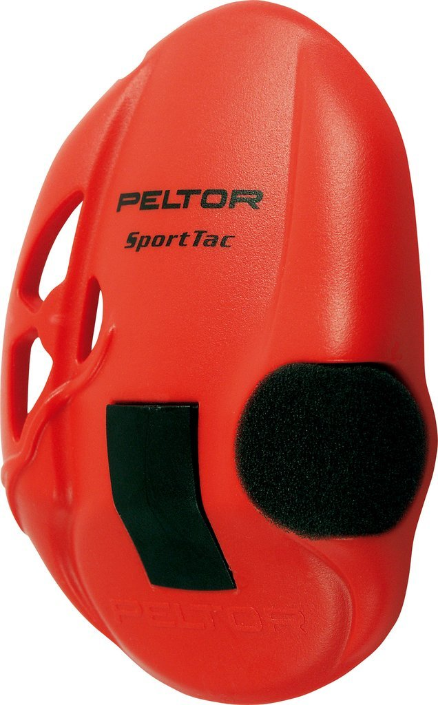 3M Peltor Sporttac Replacement Red Earshell Covers