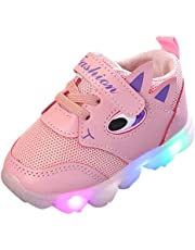 ELECTRI Printemps Automne Enfant en Bas âge bébé Fille a Conduit des Chaussures légères garçons Lumineux Chaussures de Sport en Plein air de Protection