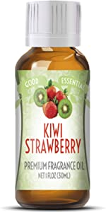 Kiwi Strawberry Scented Oil by Good Essential (Huge 1oz Bottle - Premium Grade Fragrance Oil) - Perfect for Aromatherapy, Soaps, Candles, Slime, Lotions, and More!