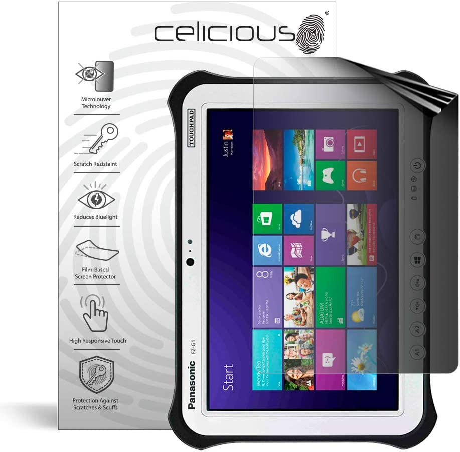 Compatible with Panasonic HX-WA2 TrueVue Anti-Glare Digital Camcorder Screen Protector Lexerd
