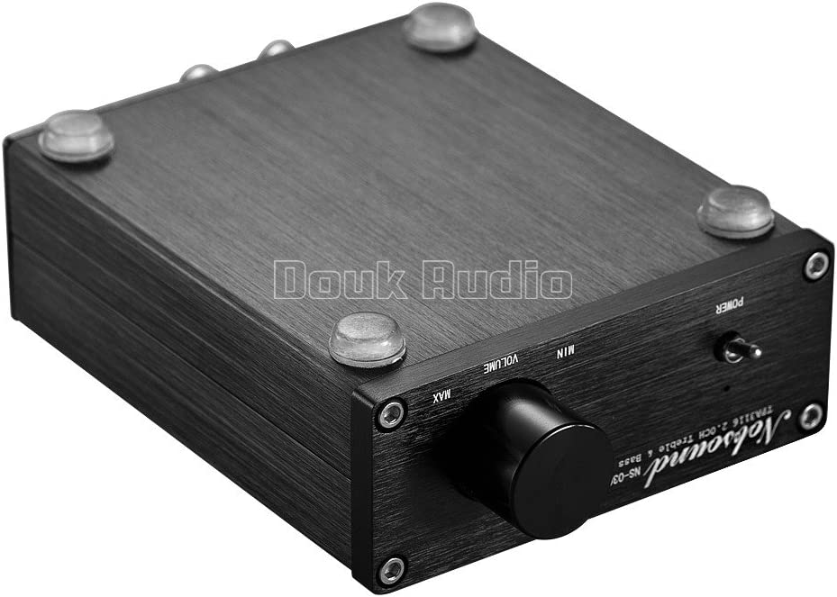 nobsound Mini Dual TPA3116 Digital Power Amplifier Hi-Fi Stereo ...