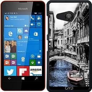 Funda para Microsoft Lumia 550 - Canal De Venecia Vendimia by Blooming Vine Design