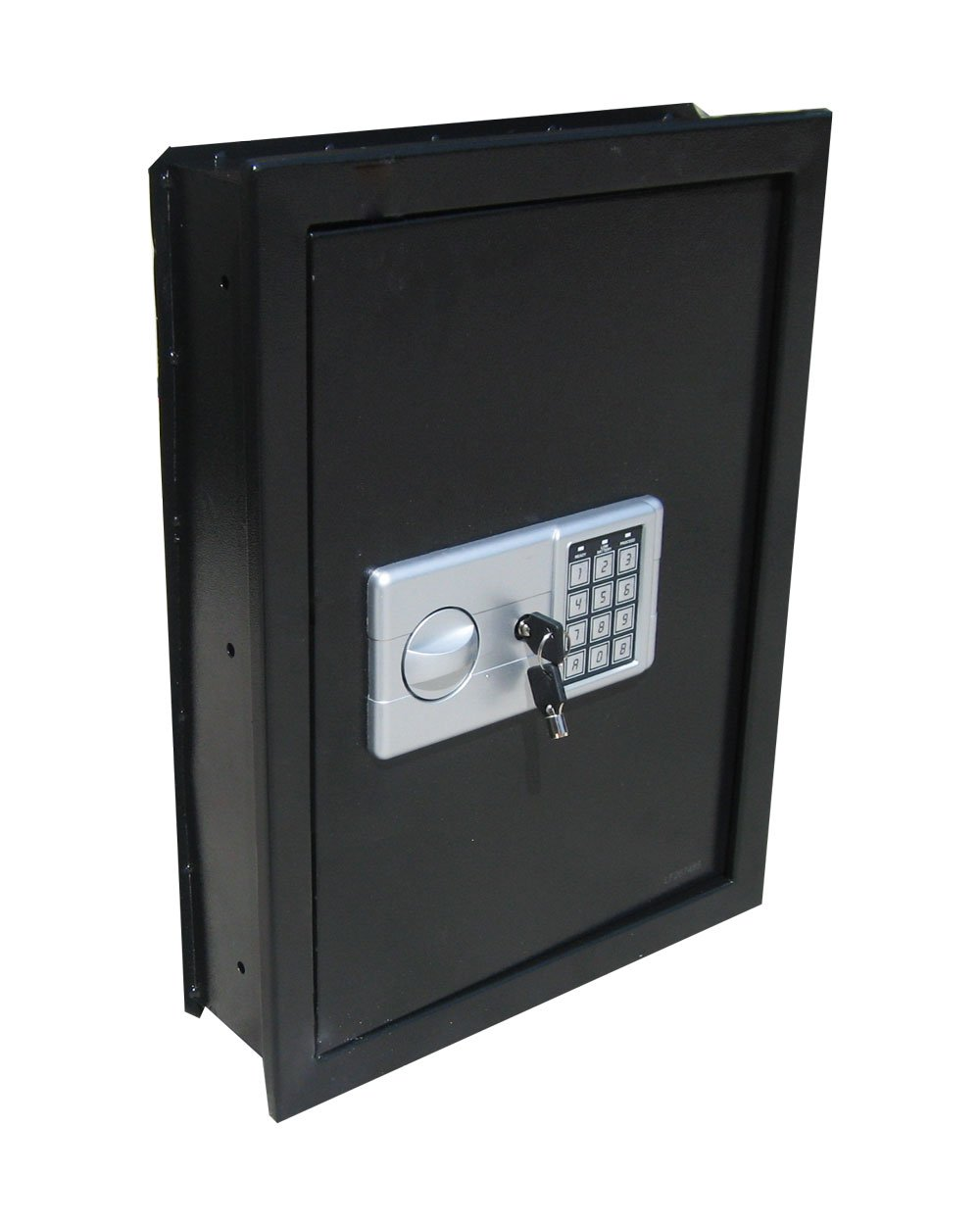 Digital Electronic Flat Recessed Wall Hidden Safe Security Box Jewelry Gun Cash (Black) by able