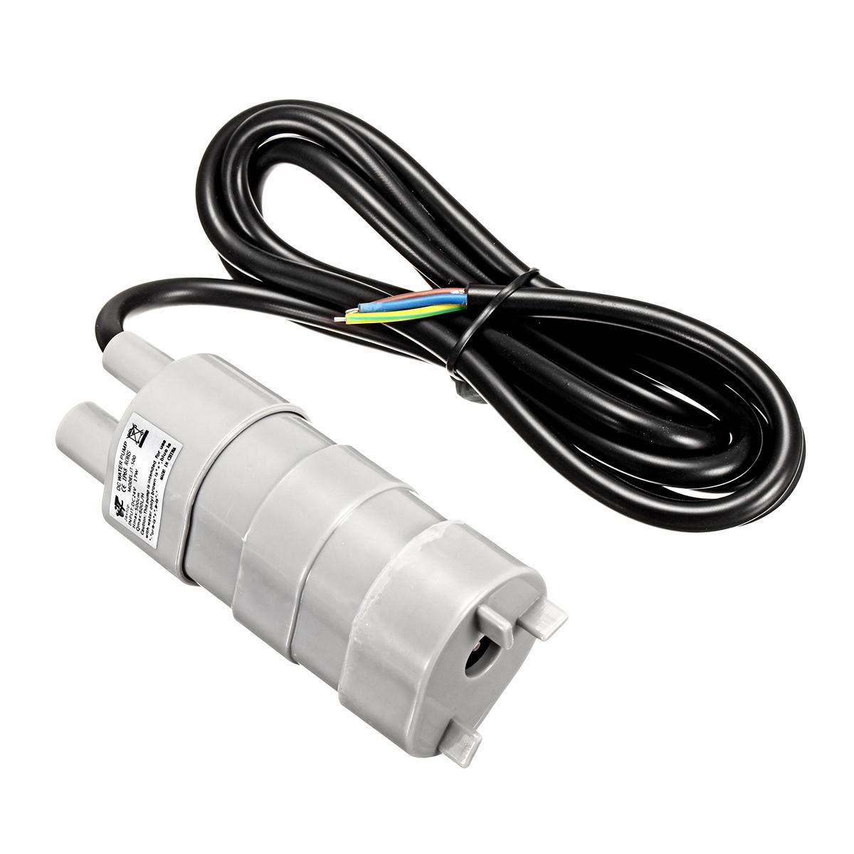 12V//24V DC Submersible Water Pump Mini Water Pump for Cutting Machine 600L//H Max