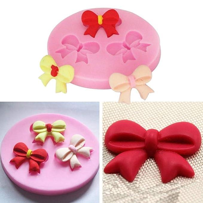 Pink Silicone Mold 3D Happy Birthday Alphabet Fondant Sugarcraft Cake Chocolate Baking Mold DIY Cupcake Topper Decoration by SamGreatWorld