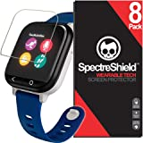 Spectre Shield (8 Pack) Screen Protector for Verizon GizmoWatch Accessory Verizon GizmoWatch Screen Protector Case…
