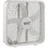Brentwood Kool Zone Slim Design Box Fan 20 3Speed F-20SW