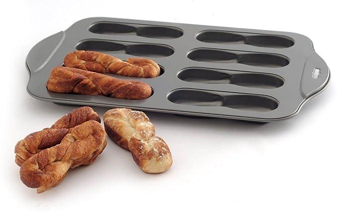 Amazon.com: Mini Donut Hole Makers - Non Stick 8 Cavity Swirl Donut Cake Pretzel Pan: Kitchen & Dining