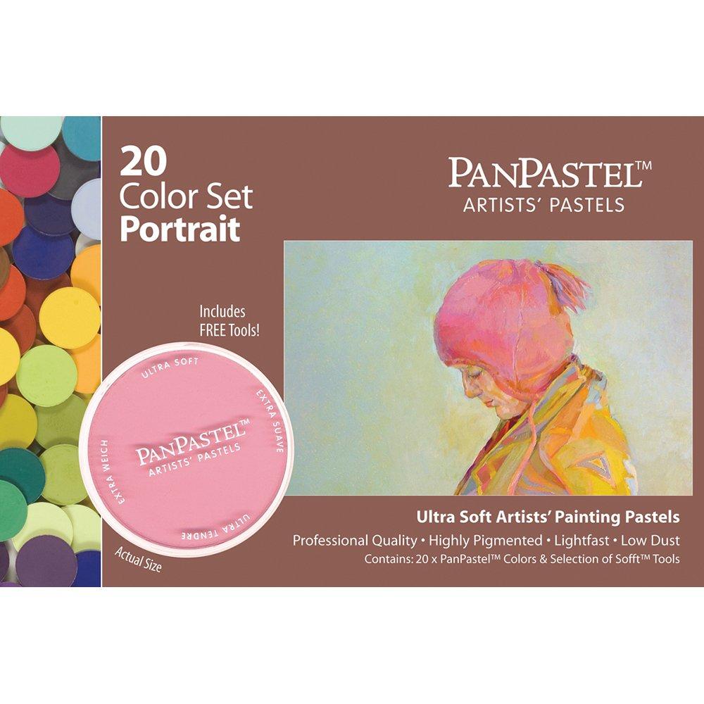 Portrait Pastels (Set of 20) by Panpastel