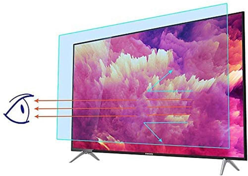 YSHCA 39-42 Pulgadas Protector De Pantalla De TV, Anti Luz Azul TV Protección de Pantalla Antirreflejos Filtro De Luz Alivia La Fatiga Ocular, para HDTV LCD/LED/OLED,40Inch/ 875x483mm (2PCS): Amazon.es: Hogar