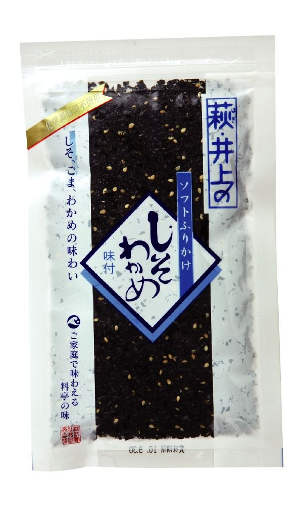 Inoue shopping shiso seaweed blue label (with no additive type) 75gX5 pieces