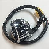 HTT GROUP Chrome LEFT Switch Fit for Fit for Suzuki GSX-R600/GSX-R750/GSX-R1000/TL1000/Hayabusa GSX1300R US Model
