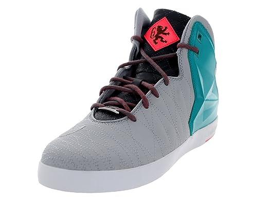 Nike Men's Lebron XI NSW Lifestyle Wolf Grey/Wlf Gry/Trb Grn/Hypr