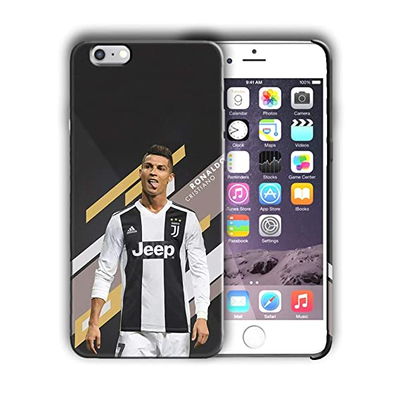lowest price 0a18e e223a Cristiano Ronaldo in Juventus iPhone 7 Case, Sports CR7 iPhone 8 Cover  Football Themed iPhone Casing Portugal Team Ronaldo Fans Italian Serie A,  ...