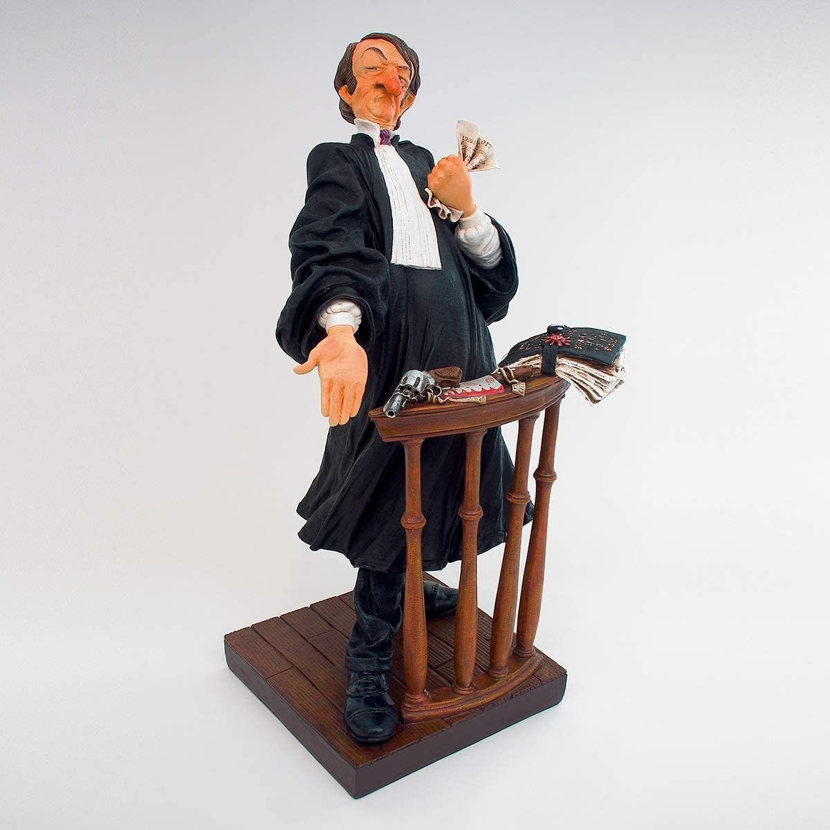 The Comic Art of Guillermo Forchino The Lawyer Special Edition 8.7 Inches Tall