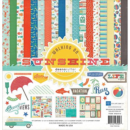 any WS67016 Walking on Sunshine Collection Kits Scrapbook ()