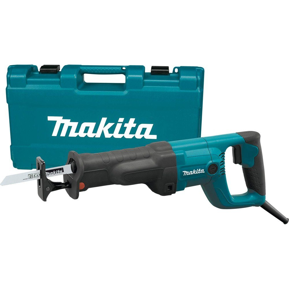 Makita JR3050TZ Recipro Saw with 11 Amp Tool Less Blade Change and Shoe Adjustment