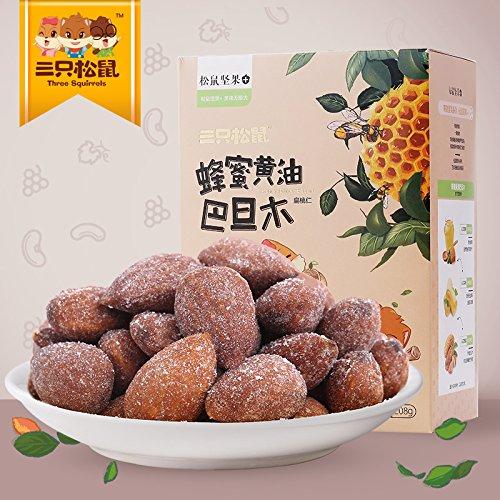 (CHIY-GBC Ltd Chinese tasty snack, tea ceremony Three squirrel [208g] _ honey butter almond almond nuts snacks CHIY-GBC Ltd Chinese tasty snack, tea ceremonyecialty)