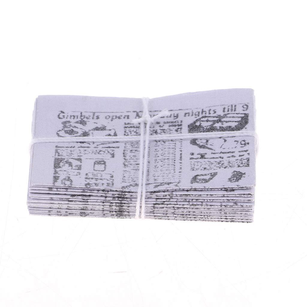 NON Sharplace 1 Set 1//12 Peri/ódico Realista en Miniatura Decoraci/ón de Estanter/ía Habitaci/ón para Casa de Mu/ñecas