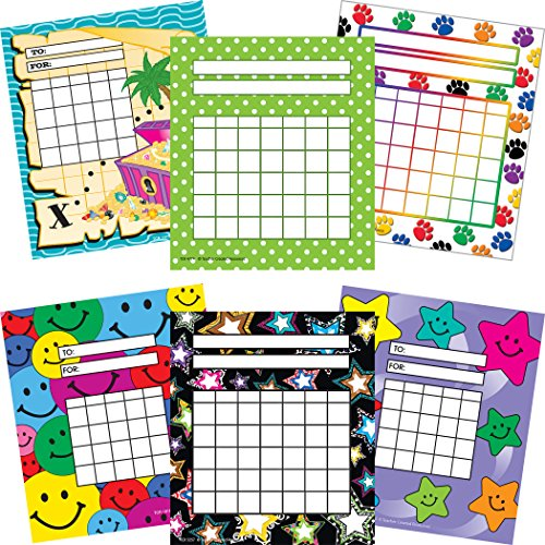 Teacher Created Resources TCR9028 Incentive Charts Set (Pack of 6)