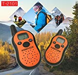 Long Range Durable Wakie Talkies For Kids, 2 Way Radios, Walky Talky Kidz Back to School Electronics Radio Toys, Best Birthday Christmas Gifts for Boys Girls Teens Outdoor Spy Games Camping Hunting