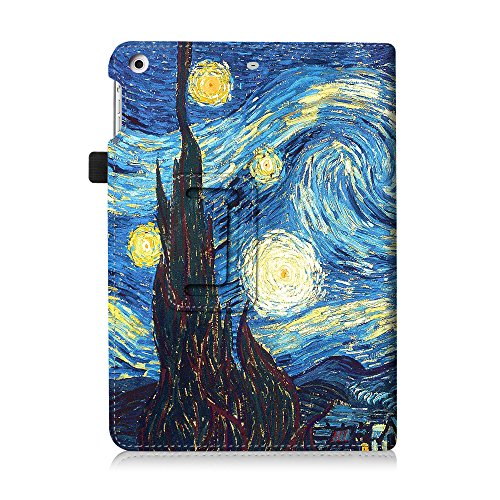Fintie iPad mini 1/2/3 Case - Folio Slim Fit Stand Case with Smart Cover Auto Sleep / Wake Feature for Apple iPad mini 1 / iPad mini 2 / iPad mini 3, Starry Night Photo #5