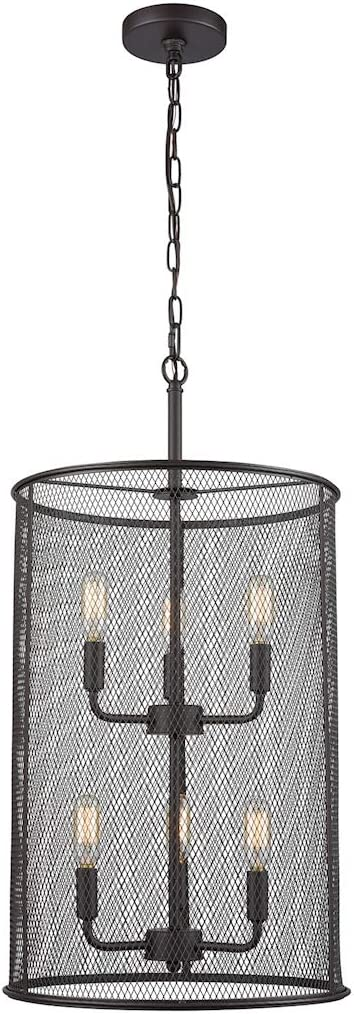 Thomas Lighting CN251641 Chandelier, Oil-Rubbed Bronze