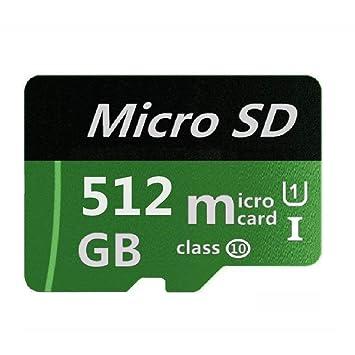 XSSRUN - Tarjeta de Memoria Micro Mini SD de 512 GB, Tarjeta de ...