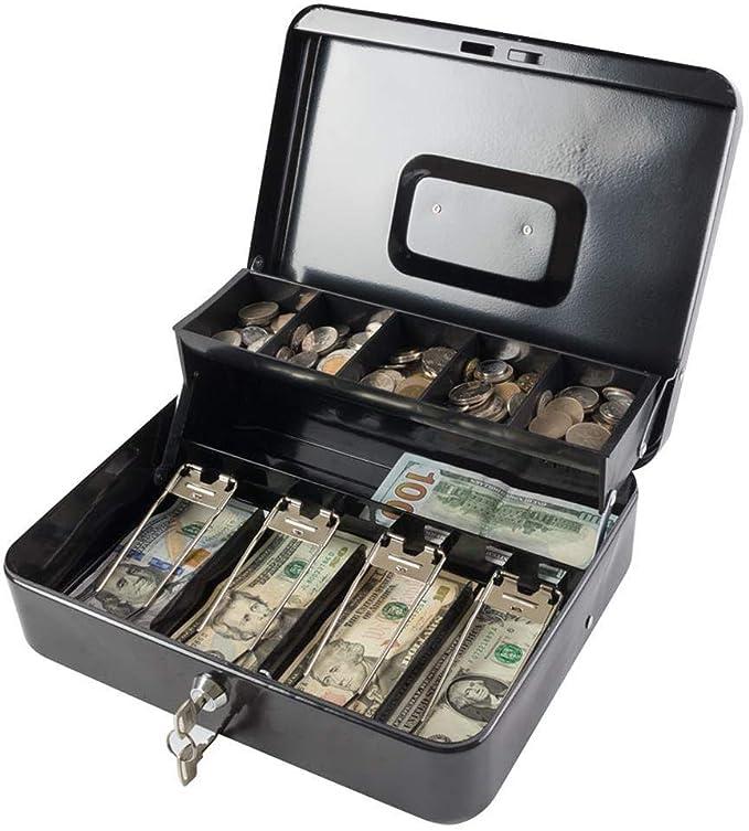 Caja Registradora Caja De Almacenamiento De Efectivo Cambio Caja De Ahorros Cajero del Centro Comercial Caja Registradora Segura 30 24 9CM: Amazon.es: Hogar