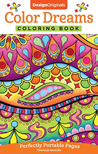 Color Dreams Coloring Book: Perfectly Portable Pages (On-The-Go! Coloring Book) (Design Originals) ()