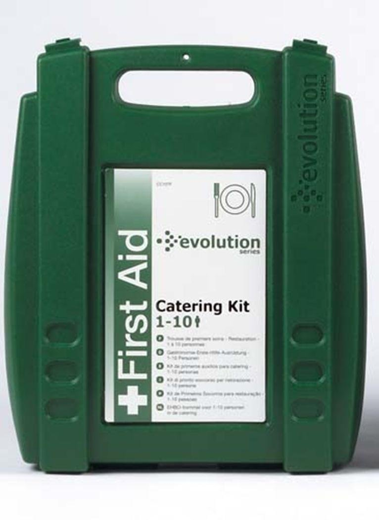 Evolution Food Handling Environment Catering First Aid Compliant Box Kit 1-10 by Evolution (Image #1)