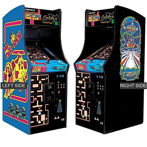 Ms. Pac-Man/Galaga Class of 1981 Arcade Gaming Cabinet
