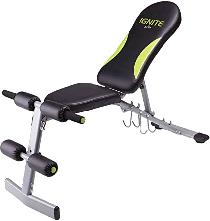 side facing spri ignite weight bench