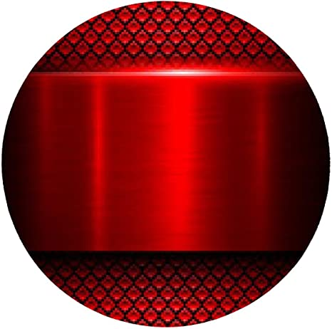 Background red metal texture Mousepad - round - 20cm: Amazon.co.uk ...
