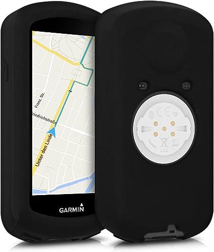 Carcasa de negro Cover para GPS de bicicleta en silicona kwmobile Funda para Garmin Edge 1030 para GPS