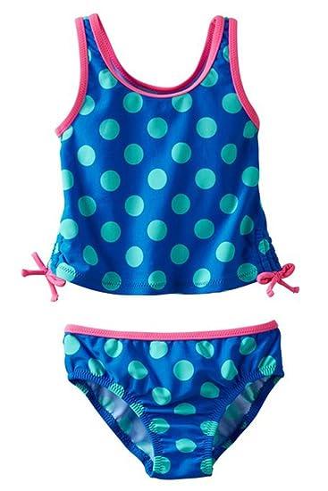 9290b2c13b Amazon.com  OshKosh B Gosh Baby Girls  Polka Dot Tankini (9M)  Clothing