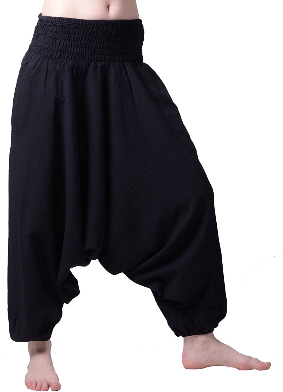 Stile orientale Harem quedane Pluderhose pump pantaloni Harem pantaloncini in colori classici