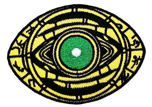 AVENGERS INIFINTY WAR Patch - DOCTOR STRANGE Eye of Agamotto - Superhero Comics Logo Character Theme Series 2018 New Marvel Movies Embroidered Sew/Iron on Badge DIY (Diy Zombie Doctor Costume)