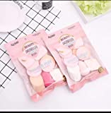 eS³kube Make Up Beauty Blender Sponge Puff for Powder, Concealer and Foundation Application (Color and Design as Per Availability, 13 Piece Set)